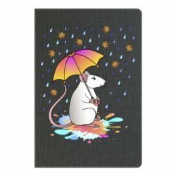 Блокнот А5 Mouse and rain