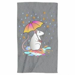 Рушник Mouse and rain