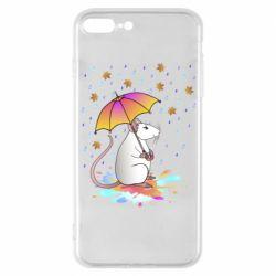 Чохол для iPhone 7 Plus Mouse and rain