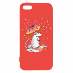 Чохол для iPhone 5 Mouse and rain