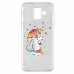 Чохол для Samsung A6 2018 Mouse and rain