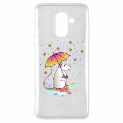 Чохол для Samsung A6+ 2018 Mouse and rain