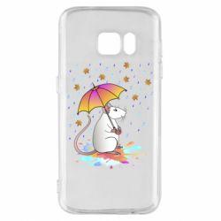Чохол для Samsung S7 Mouse and rain
