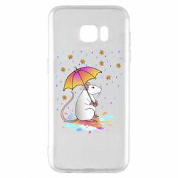 Чохол для Samsung S7 EDGE Mouse and rain
