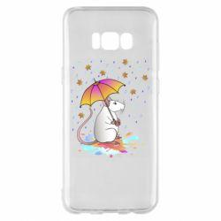 Чохол для Samsung S8+ Mouse and rain