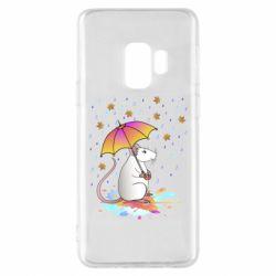 Чохол для Samsung S9 Mouse and rain