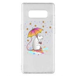 Чохол для Samsung Note 8 Mouse and rain