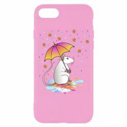 Чохол для iPhone 8 Mouse and rain