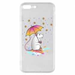 Чохол для iPhone 8 Plus Mouse and rain