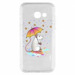 Чохол для Samsung A3 2017 Mouse and rain