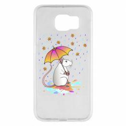 Чохол для Samsung S6 Mouse and rain