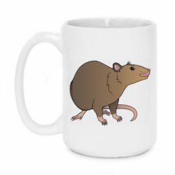 Кружка 420ml Mouse vector art