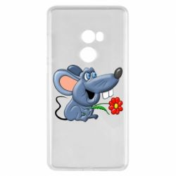Чехол для Xiaomi Mi Mix 2 Mouse with a flower