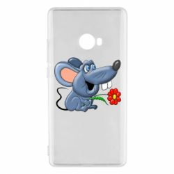 Чехол для Xiaomi Mi Note 2 Mouse with a flower