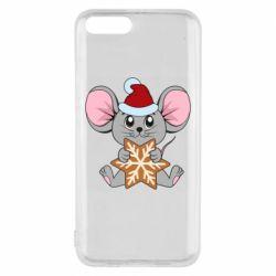 Чехол для Xiaomi Mi6 Mouse with cookies