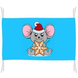 Флаг Mouse with cookies