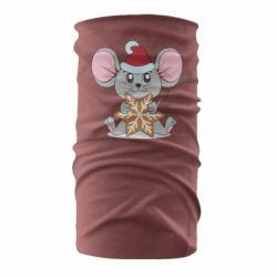 Бандана-труба Mouse with cookies