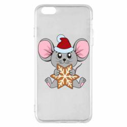 Чехол для iPhone 6 Plus/6S Plus Mouse with cookies