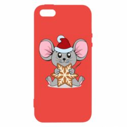 Чехол для iPhone5/5S/SE Mouse with cookies