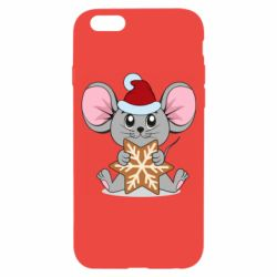 Чехол для iPhone 6/6S Mouse with cookies