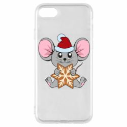 Чехол для iPhone 8 Mouse with cookies