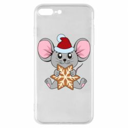 Чехол для iPhone 8 Plus Mouse with cookies