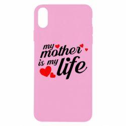Чохол для iPhone Xs Max Моя мати -  моє життя