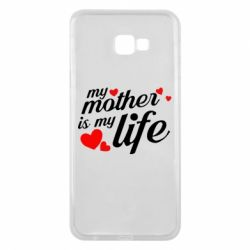 Чохол для Samsung J4 Plus 2018 Моя мати -  моє життя