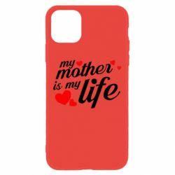 Чохол для iPhone 11 Моя мати -  моє життя