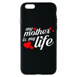Чохол для iPhone 6/6S Моя мати -  моє життя
