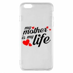 Чохол для iPhone 6 Plus/6S Plus Моя мати -  моє життя