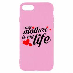 Чохол для iPhone 7 Моя мати -  моє життя