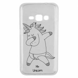 Чехол для Samsung J1 2016 Mr Unicorn