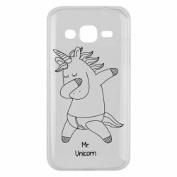 Чехол для Samsung J2 2015 Mr Unicorn