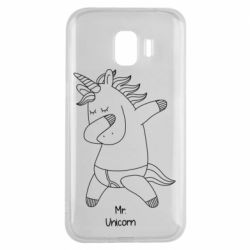 Чехол для Samsung J2 2018 Mr Unicorn