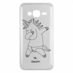 Чехол для Samsung J3 2016 Mr Unicorn