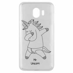 Чехол для Samsung J4 Mr Unicorn