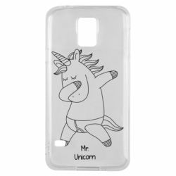Чехол для Samsung S5 Mr Unicorn