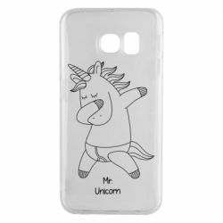 Чехол для Samsung S6 EDGE Mr Unicorn