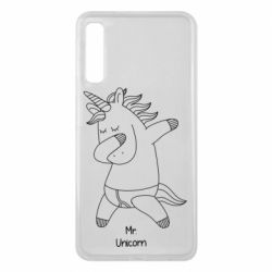 Чехол для Samsung A7 2018 Mr Unicorn
