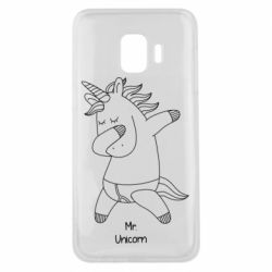 Чехол для Samsung J2 Core Mr Unicorn