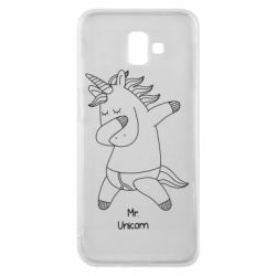 Чехол для Samsung J6 Plus 2018 Mr Unicorn