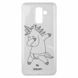 Чехол для Samsung J8 2018 Mr Unicorn