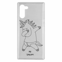 Чехол для Samsung Note 10 Mr Unicorn