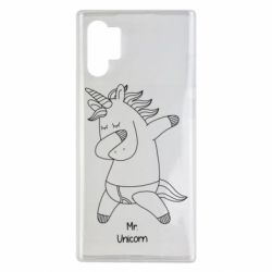 Чехол для Samsung Note 10 Plus Mr Unicorn