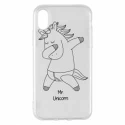 Чехол для iPhone X/Xs Mr Unicorn