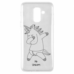 Чехол для Samsung A6+ 2018 Mr Unicorn