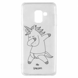 Чехол для Samsung A8 2018 Mr Unicorn