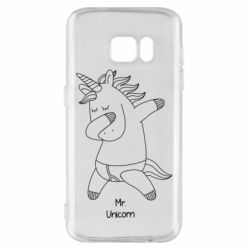 Чехол для Samsung S7 Mr Unicorn