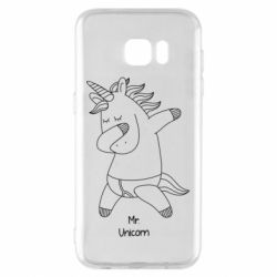 Чехол для Samsung S7 EDGE Mr Unicorn